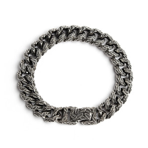 leaf chain 11mm bracelet