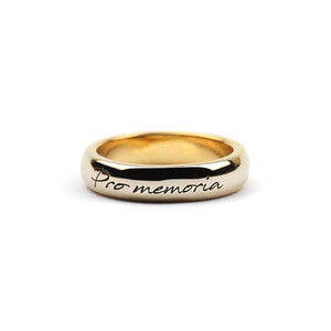 Signature Band Ring_Medium_G